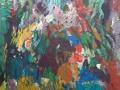 Bloemen VII - acryl op doek - 60 X 70 cm