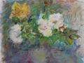Bloemen 50 x 60 ipp gouache