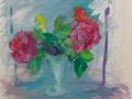 Bloemen - Rozen 50 x 60 ipp gouache