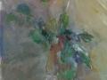 Bloemen - Rozen 70 x 45 ipp gouache (alu lijst)