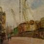 Stadsgezicht - Rokin werkzaamheden Noord-Zuidlijn 50 x 50
