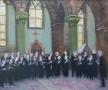 Het VU-koor in de Waalse kerk 50 x 60 acryl (verkocht)