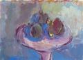 Stilleven met vijgen II 30 x 40 ipp gouache